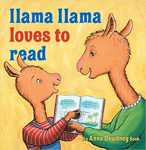 Llama Loves to Read is one of the best audiobooks for 5-year olds.
