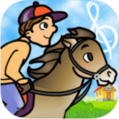 Flashnote Derby is a fun educational app for 5-year olds.