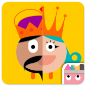 Thinkrolls: Kings and Queens is a great problem-solving app for 5-year olds.
