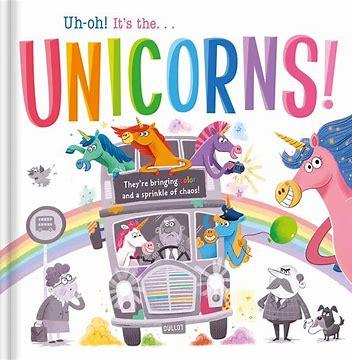 Digital kids books: Uh-Oh! It's the Unicorns!
