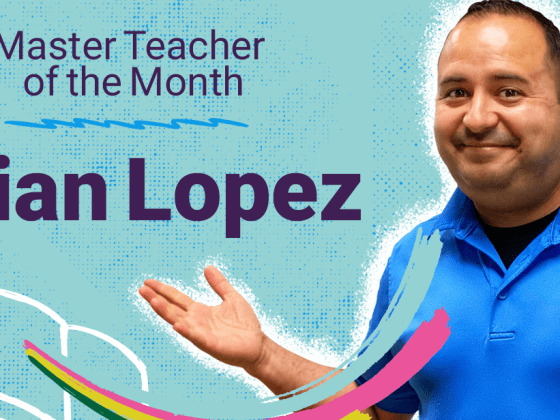 Epic Master Teacher of the Month: Brian Lopez