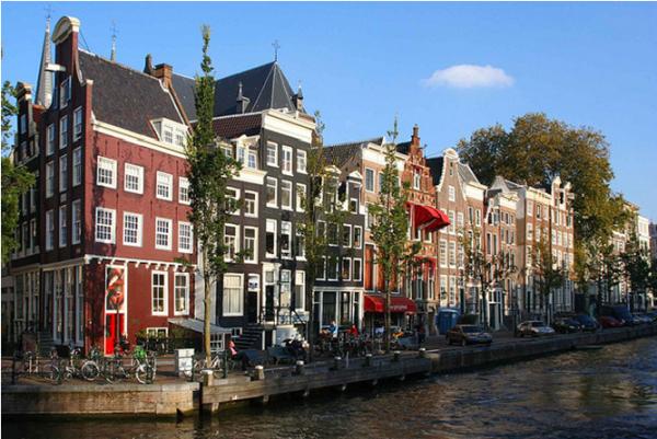 Waterfietsen Speurtocht Amsterdam