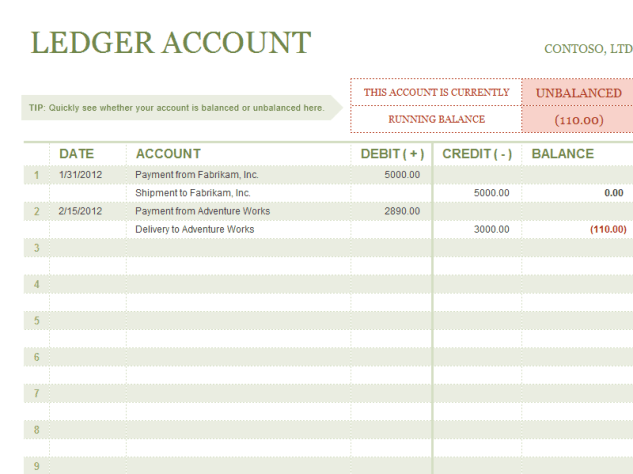 account ledger template 444