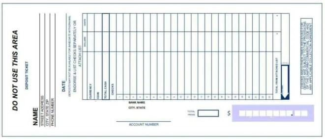 Dramatic image regarding free printable deposit slips