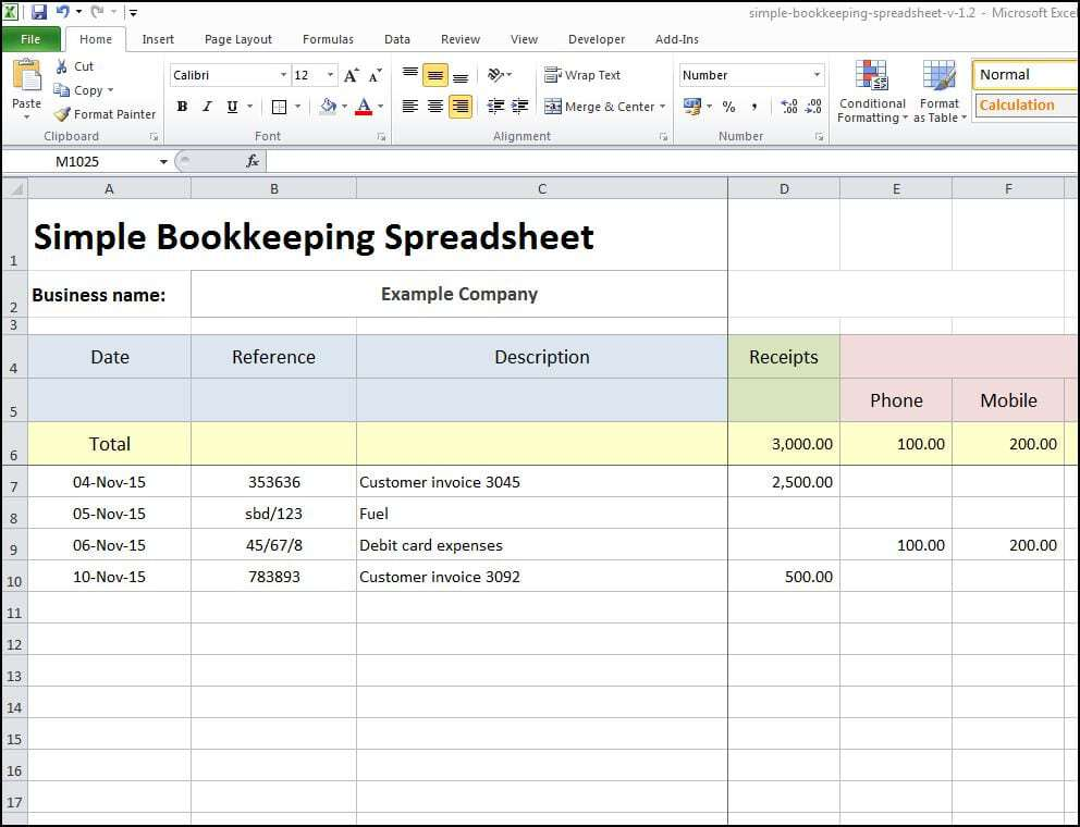 bookkeeping excel spreadsheets free download koni polycode co