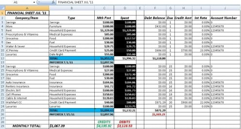 Accounts Receivable Template Excel