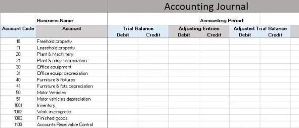 accounting excel template 59841