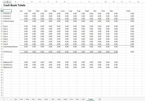 accounting excel template 6514