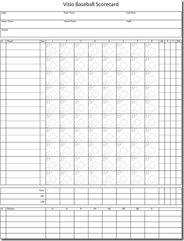 Baseball Tournament Score Sheet Template Archives - Excel Templates