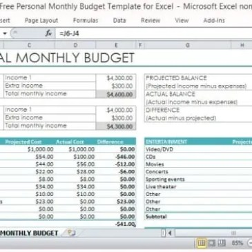 Marketing Budget Spreadsheet Template Archives Excel Templates