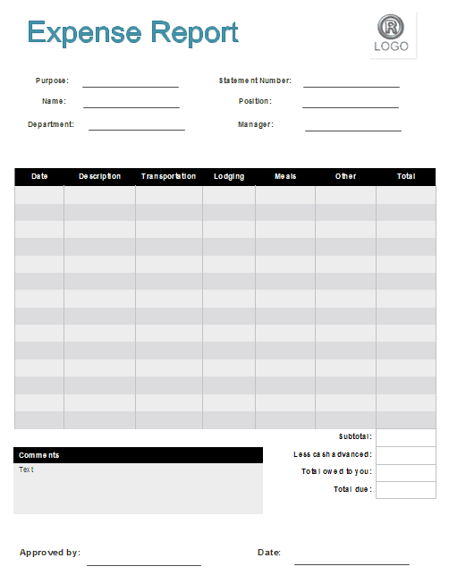 expense claim form template 26654