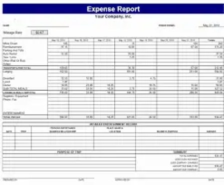 expense report 64151