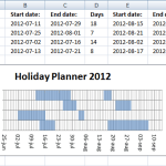 8+ Holiday Planner Templates