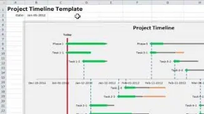 9 Project Timeline Excel Templates Excel Templates