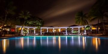Hotel's night vies