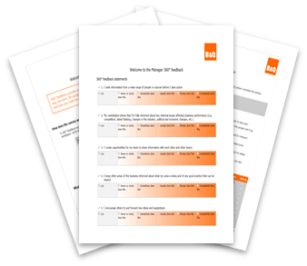 B and Q survey