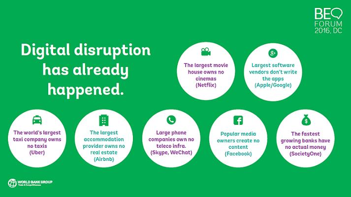 Digital disruption has already happened
