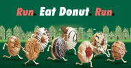 eat a donut run
