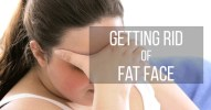 how to lose fat face