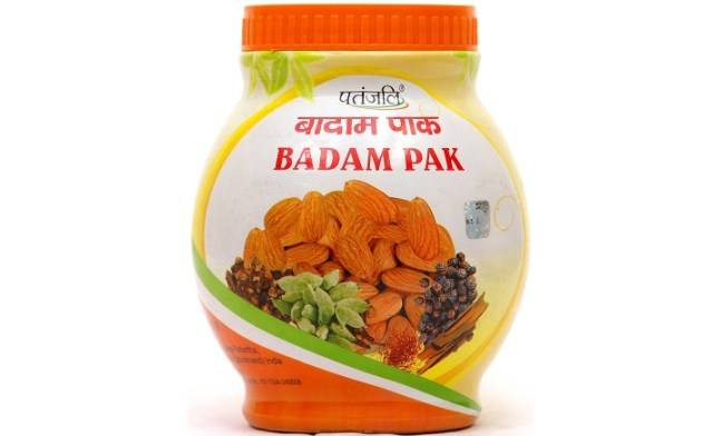 patanjali badam pak for weight gain