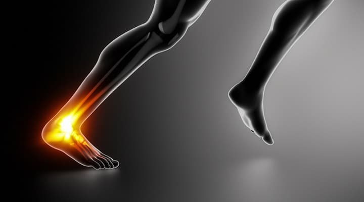 Achilles pain: running on road