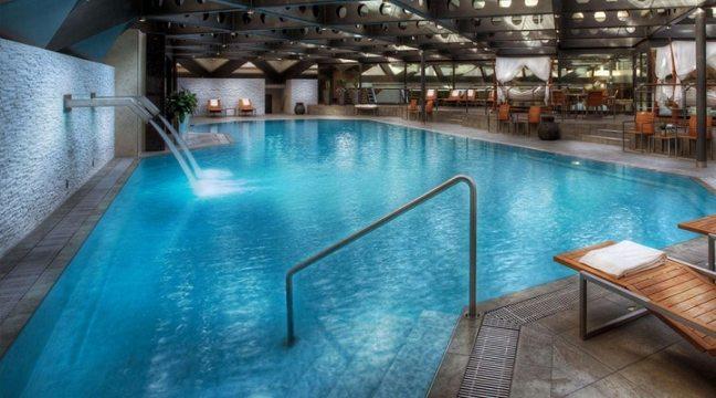 Nelson Health Club: Heated pools in Delhi