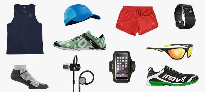 running gear: running on road
