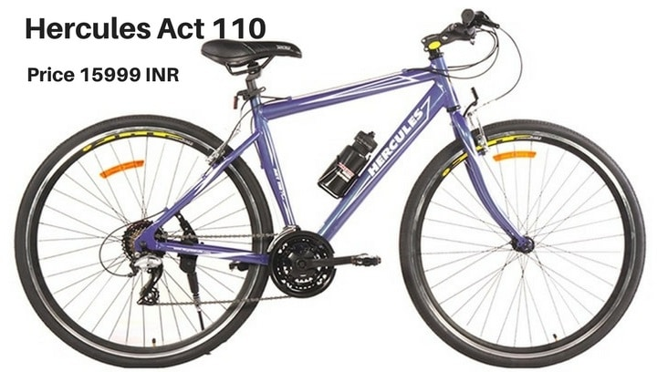 Hercules Act 110: cycle for beginners