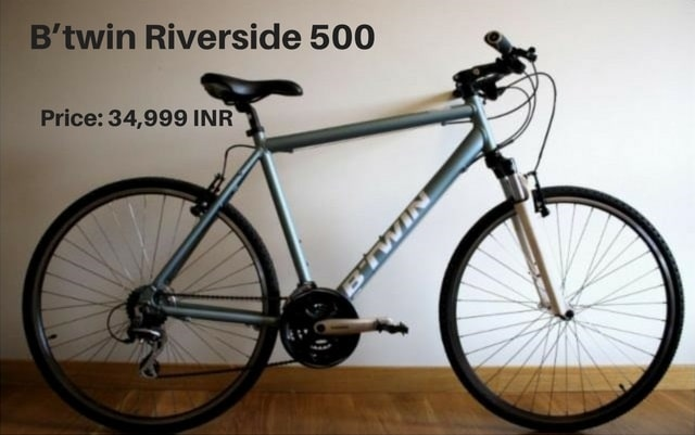 B'twin Riverside 500: cycle for beginners