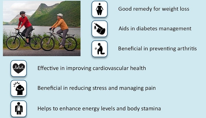 cycling benefits: Cycling in Bangalore