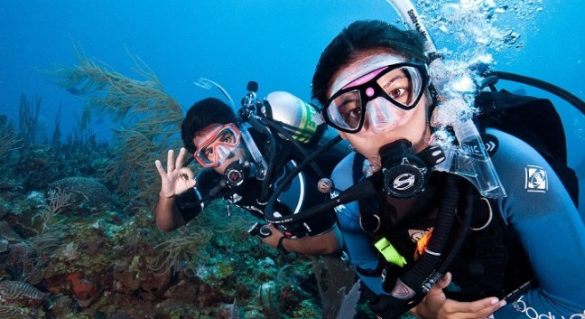 scuba diving: new year resolution