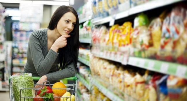 buy grocery according to your diet plan