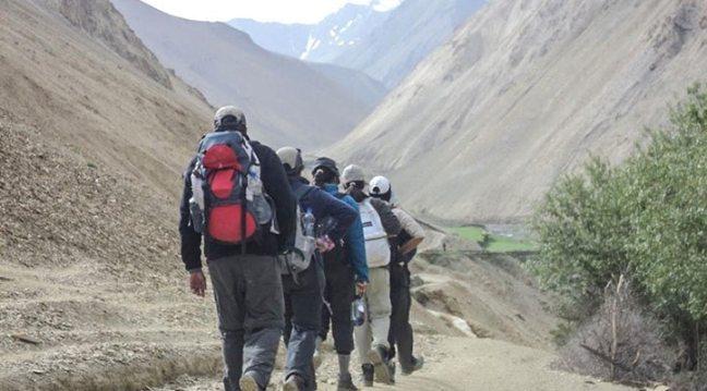 Trekking: new year resolution