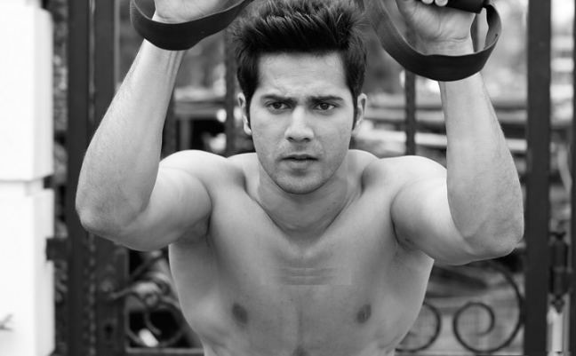 varun dhawan workout and diet