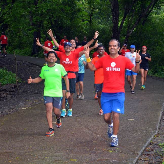 striders running groups in mumbai