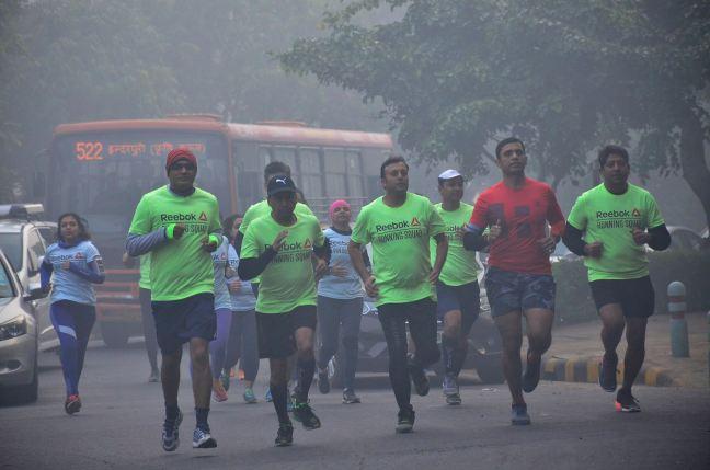 reebok running groups in bangalore