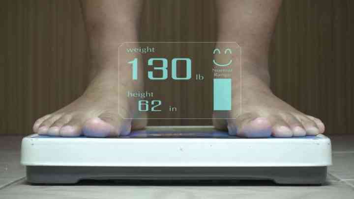 basic healthcare devices for home: weighing scale