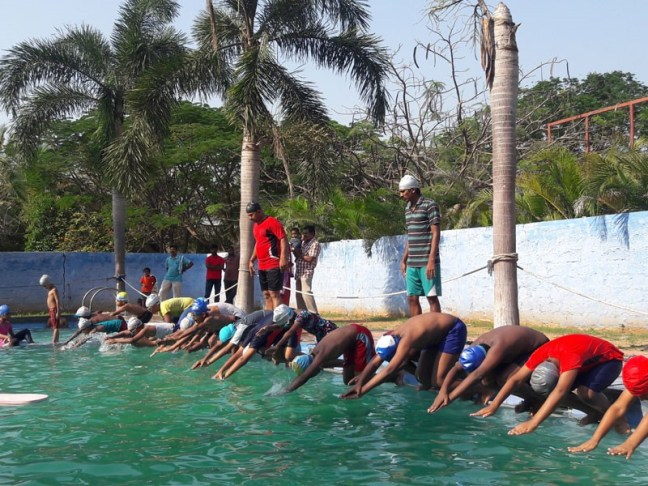 swimming classes in coimbatore