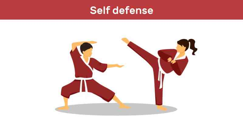 importance of self defence