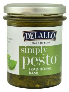 Delallo Simply Pesto Healthy Sauce