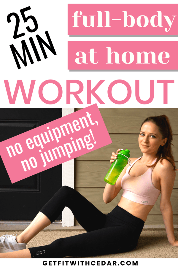 25 minute full-body at home workout