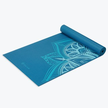 Gaiam yoga mat inexpensive home workout equipment