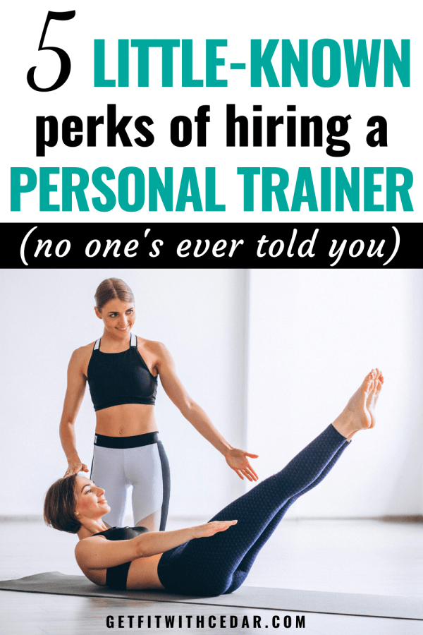 Perks of hiring a personal trainer