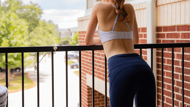 exercises to grow glutes not thighs