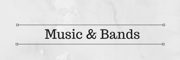 music bands header