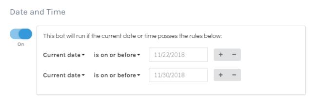 Date Trigger