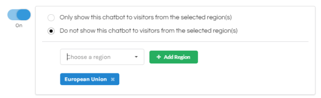 Gobot Geographic Specific Functionality