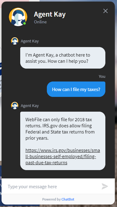 Kansas City Agent Kay Chatbot