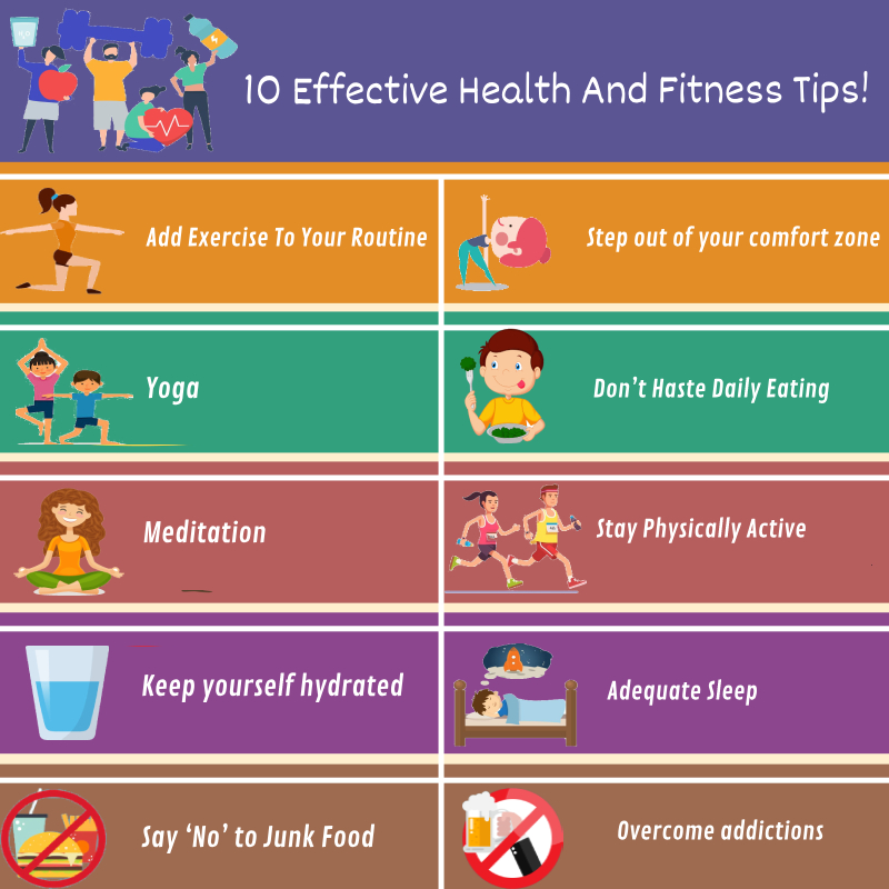 10 Effective Health And Fitness Tips Get Health Care Tips