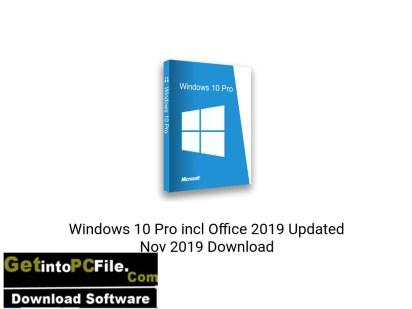 Windows 10 Pro incl Office 2019